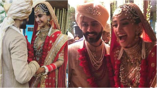 Sonam Kapoor and Anand Ahuja, Image Courtesy: Instagram