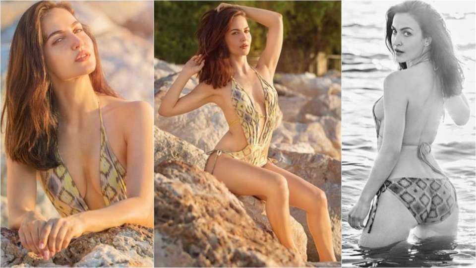 Elli AvrRam sizzles in latest bikini pic, Image Courtesy: Instagram