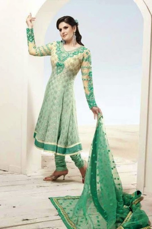 Zarine Khan in Churidars