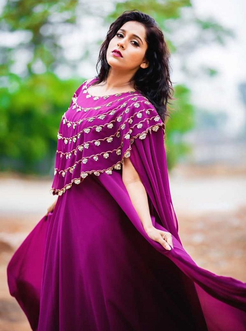 Rashmi Gautam Photos In Saree