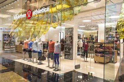 lululemon athletica, Mall of the Emirates
