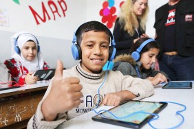 Abdul Aziz Al Ghurair Refugee Education Fund facilitates online learning in Lebanon