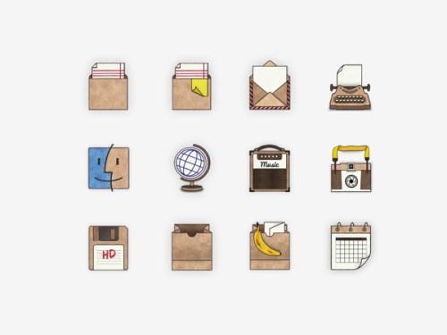 Desktop Icons by Nina Azzarello, 2013