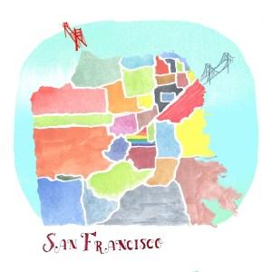 SF MAP James Lake