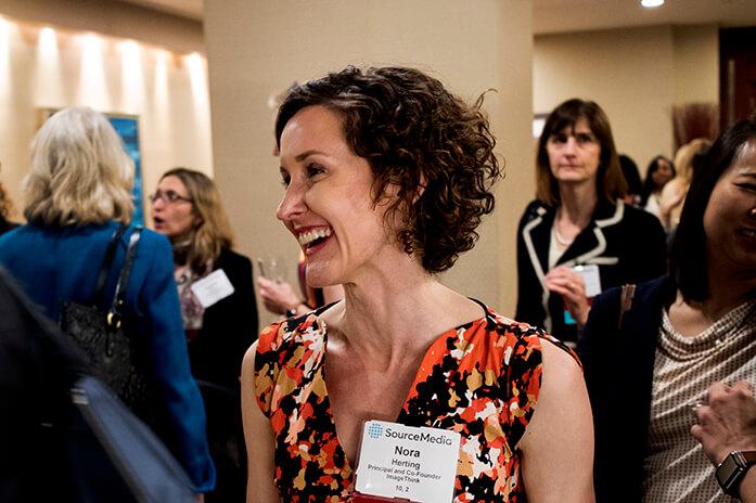 ImageThink meeting facilitator Nora Herting