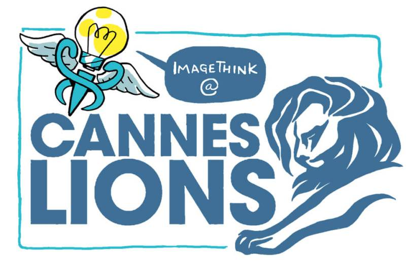 graphic recording, cannes lions, health communications