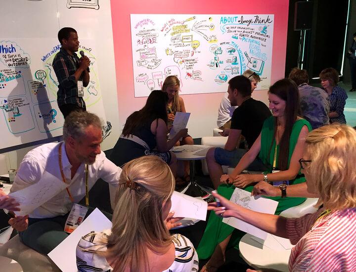 imagethink, cannes lions health, graphic facilitation, workshop