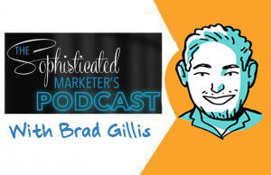 imagethink, graphic recording, sketchnotes, brad gillis, sophisticated marketer, podcast