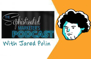 sophisticated marketer's podcast, imagetihnk, graphic recording, sketchnotes, jared polin, froknows photography