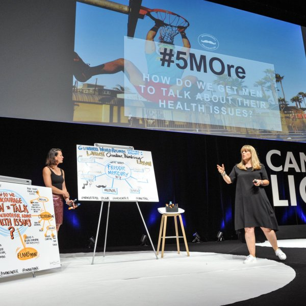 Keynote, Cannes Lions, Conferences, Graphic recording, visual sketchnotes