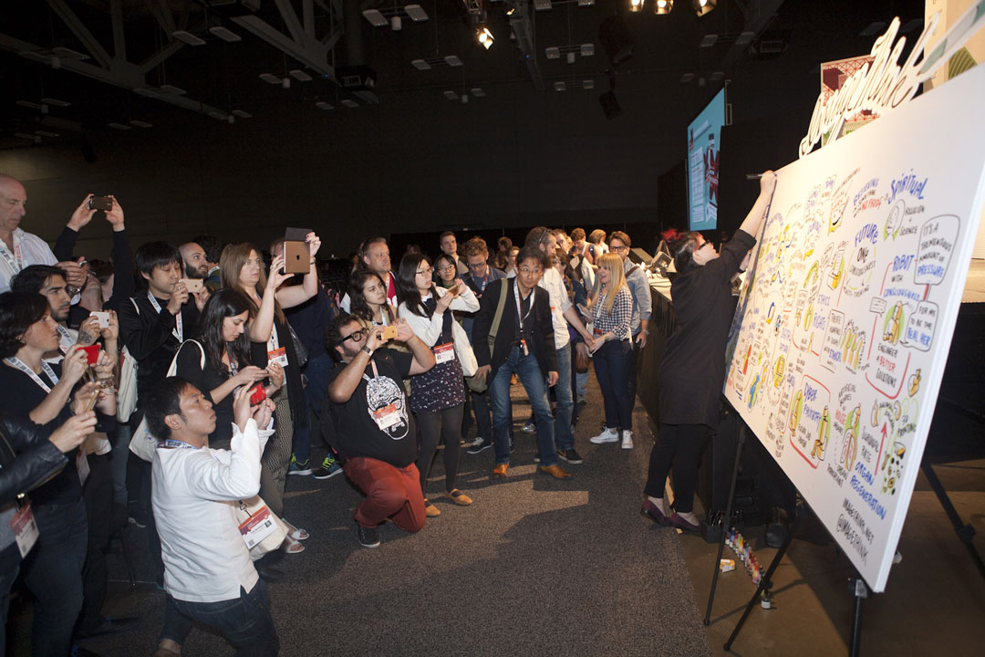 ImageThink graphic recording ignites keynotes at conferences.