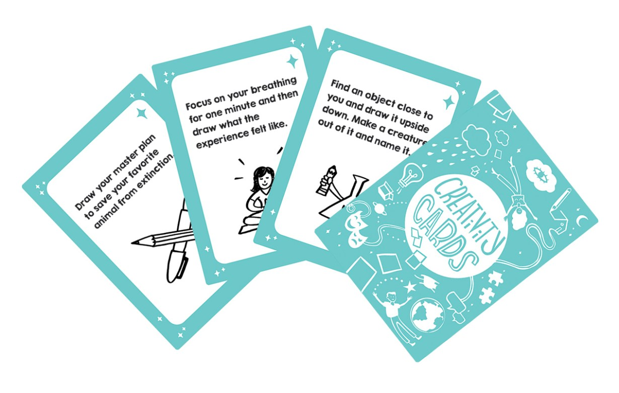 creativity cards by imagethink unleash creative problem solving at