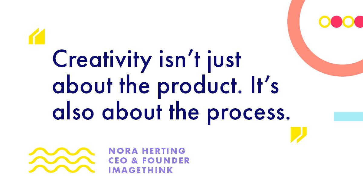 Here are the thoughts of @ImageThink CEO Nora Herting on Creativity
