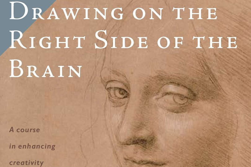 Drawing on the Right Side of the Brain by Betty Edwards book cover crop