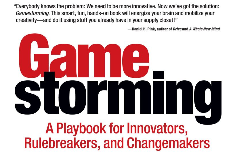 Gamestorming by Dave Gray, Sunni Brown, and James Macanufo book cover crop