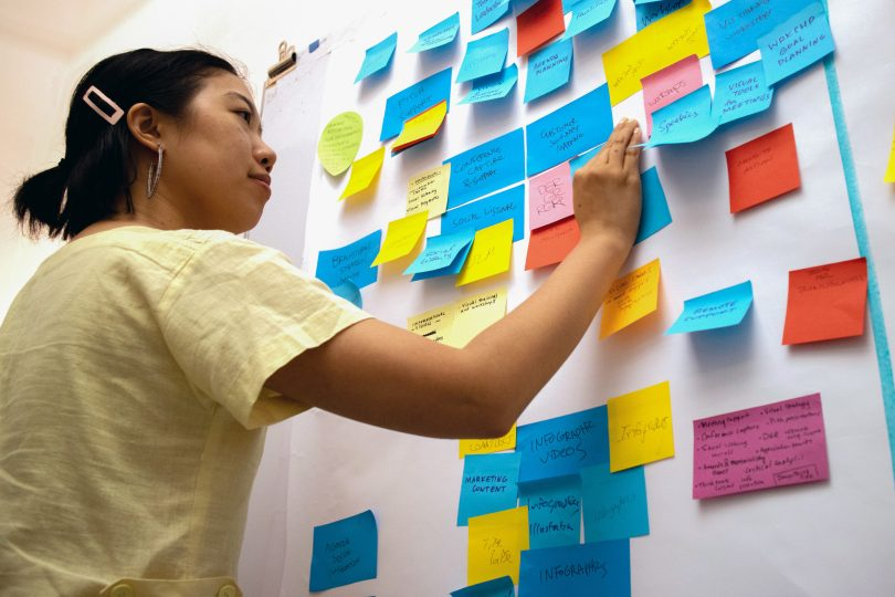 ImageThink facilitates team brainstorms and incites creativity utilizing tools like post-it boards.