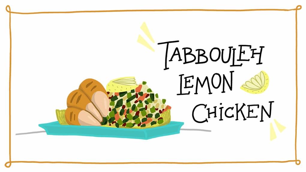 ImageThink's Tabbouleh and Lemon Chicken Recipe created during quarantine