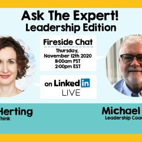 Nora Herting and Michael Walsh on ASK THE EXPERT!