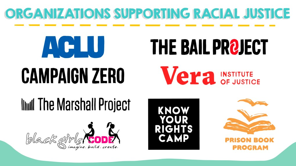 organizations supporting racial justice efforts in the United States