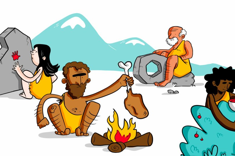 Early Man Used images to teach and tell stories for survival