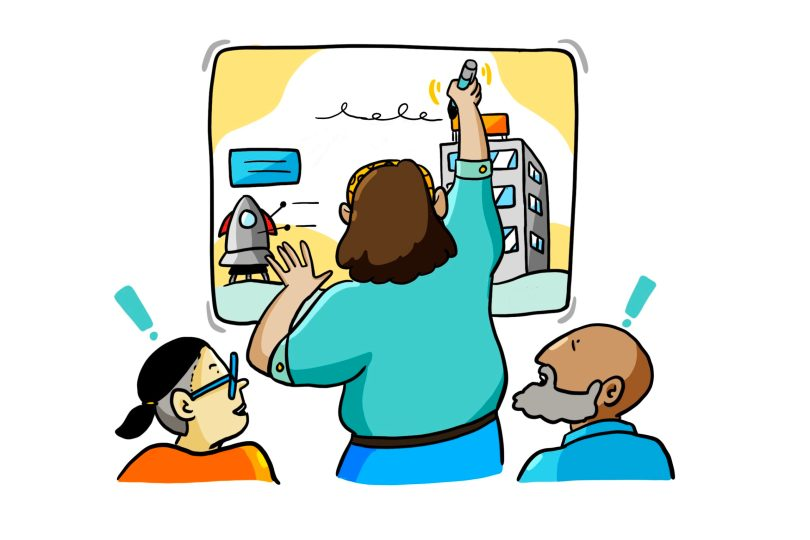 ImageThink graphic recording and meeting illustration makes a visible impact in every meeting