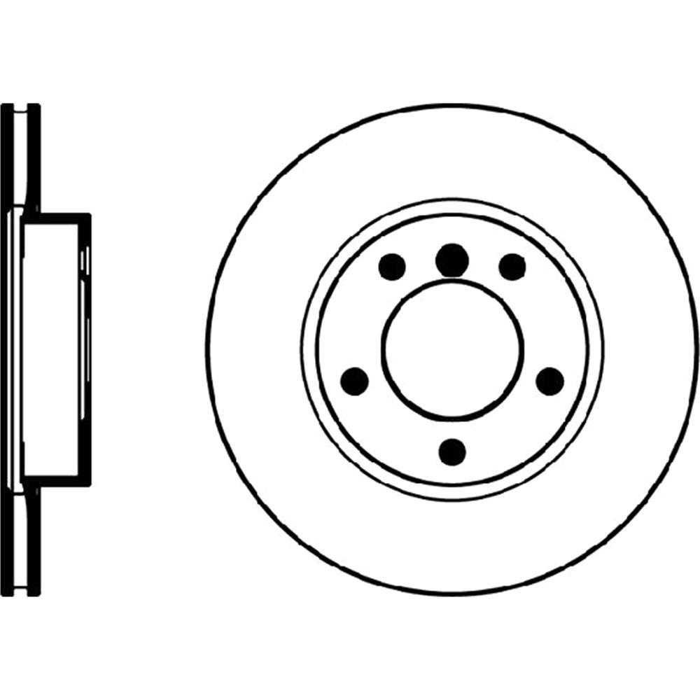 Brake discs mintex front brake discs pair