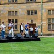 The University of Sydney Christmas party performers