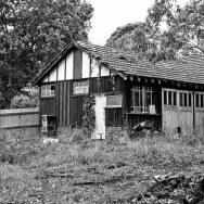 a deserted house