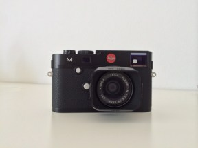 Leica M front view