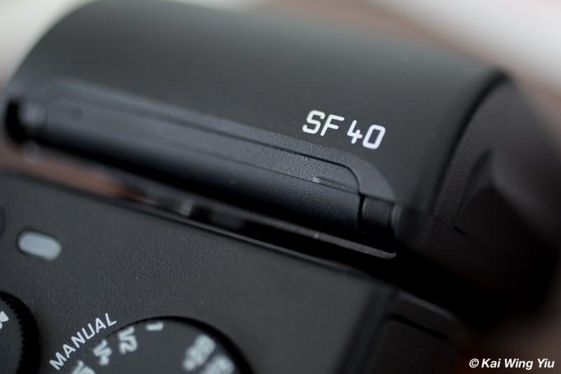 The Leica Flash SF40