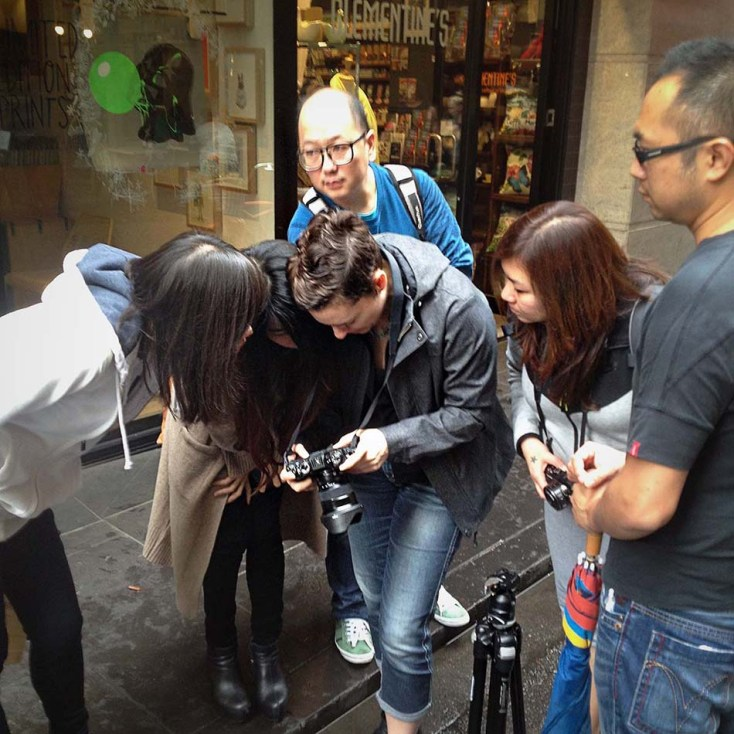 Image Workshop Photography - Getting approvals on the VISA campaign in Melbourne
