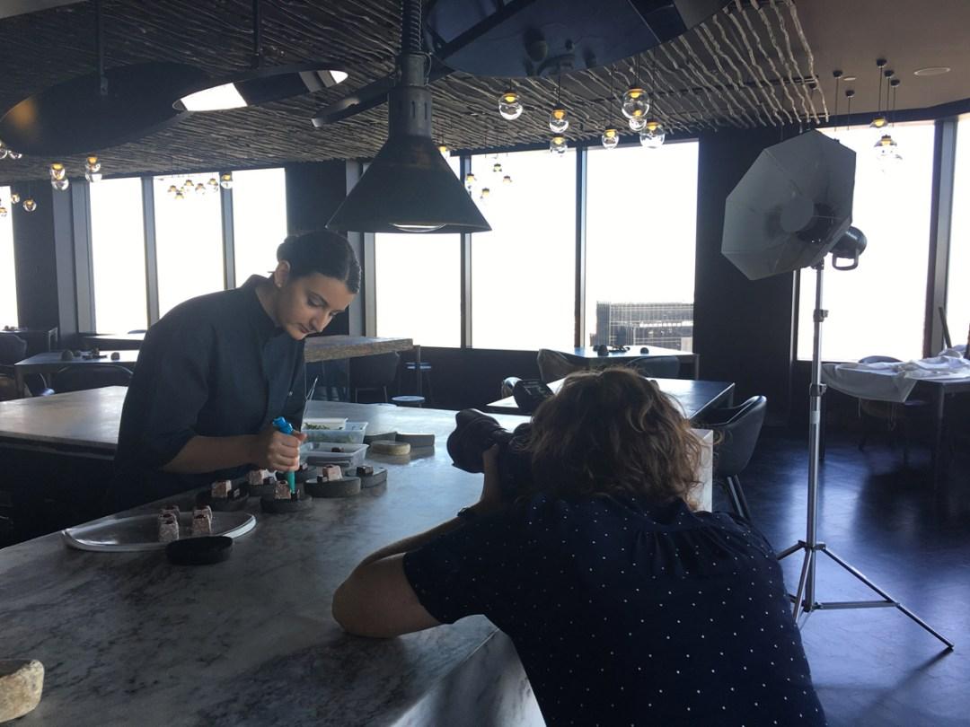Commercial portrait photography on location at Melbourne restaurant Vue de Monde