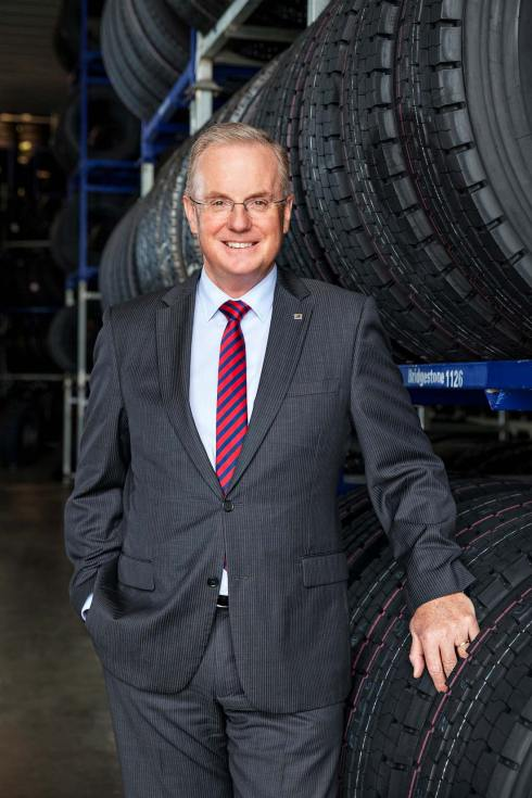 Andrew Moffatt, Managing Director, Bridgestone Australia & New Zealand