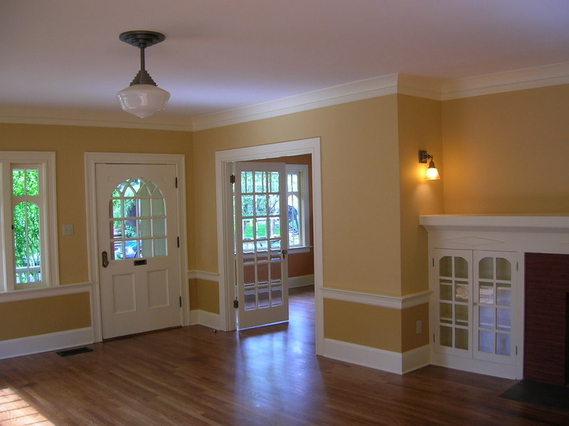 Interior House Painting   How To Paint Doors  Windows    Trim Interior House Painting Image Highlighting Doors  Windows