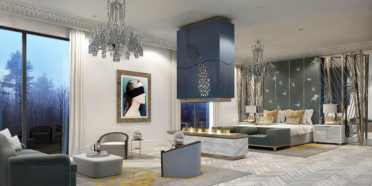 Luxury Penthouse Interior CGI Portfolio Imaginar
