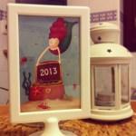 DIY, mini calendario 2013