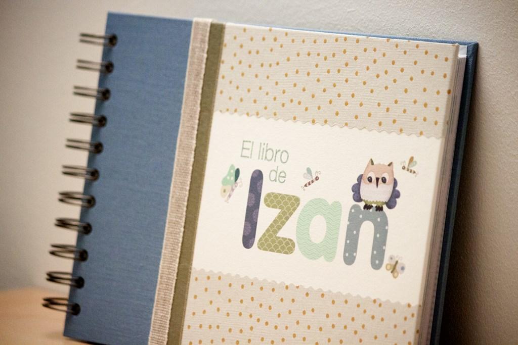 Libro de nacimiento Izan