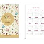 Calendario DIY 2015