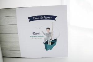 Un libro de firmas muy especial…. COMUNIONES, Danel