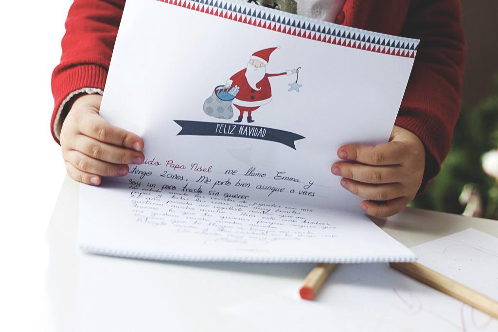 carta papa noel navidad ilustración donostia gipuzkoa
