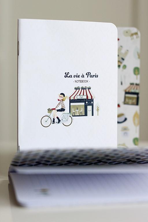 notebook paris ilustración libretas donostia gipuzkoa