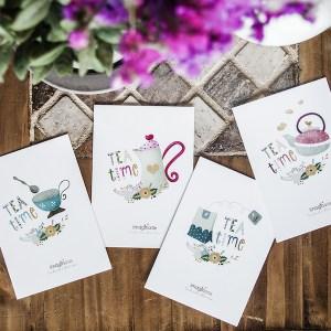 Postales Tea TIme