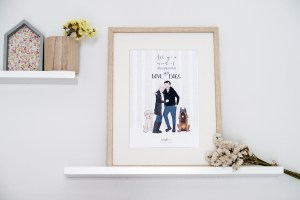 Nueva ilustración: All you need is love & dogs
