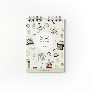 Libreta Paris notebook