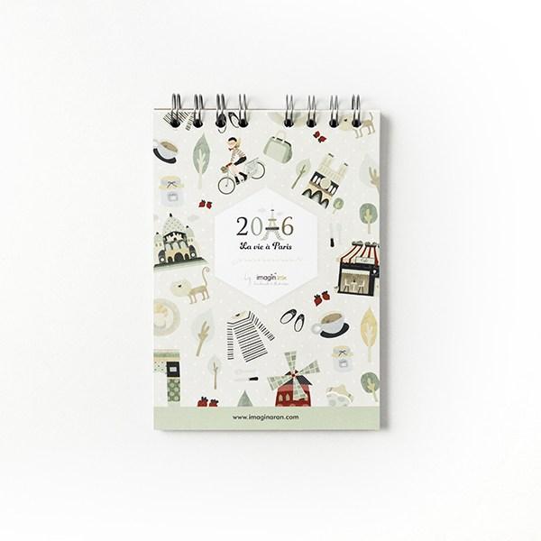 Libreta Paris notebook