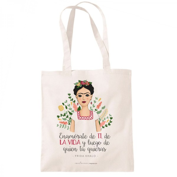 Totebag Frida, bolsa de tela