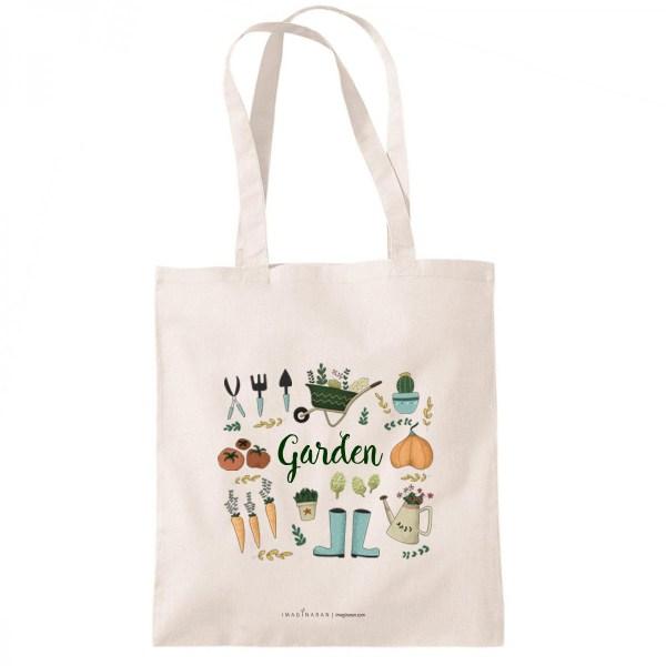 bolsa de tela garden