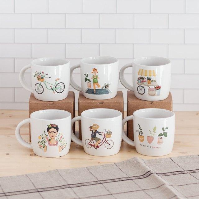 tazas de ceramica