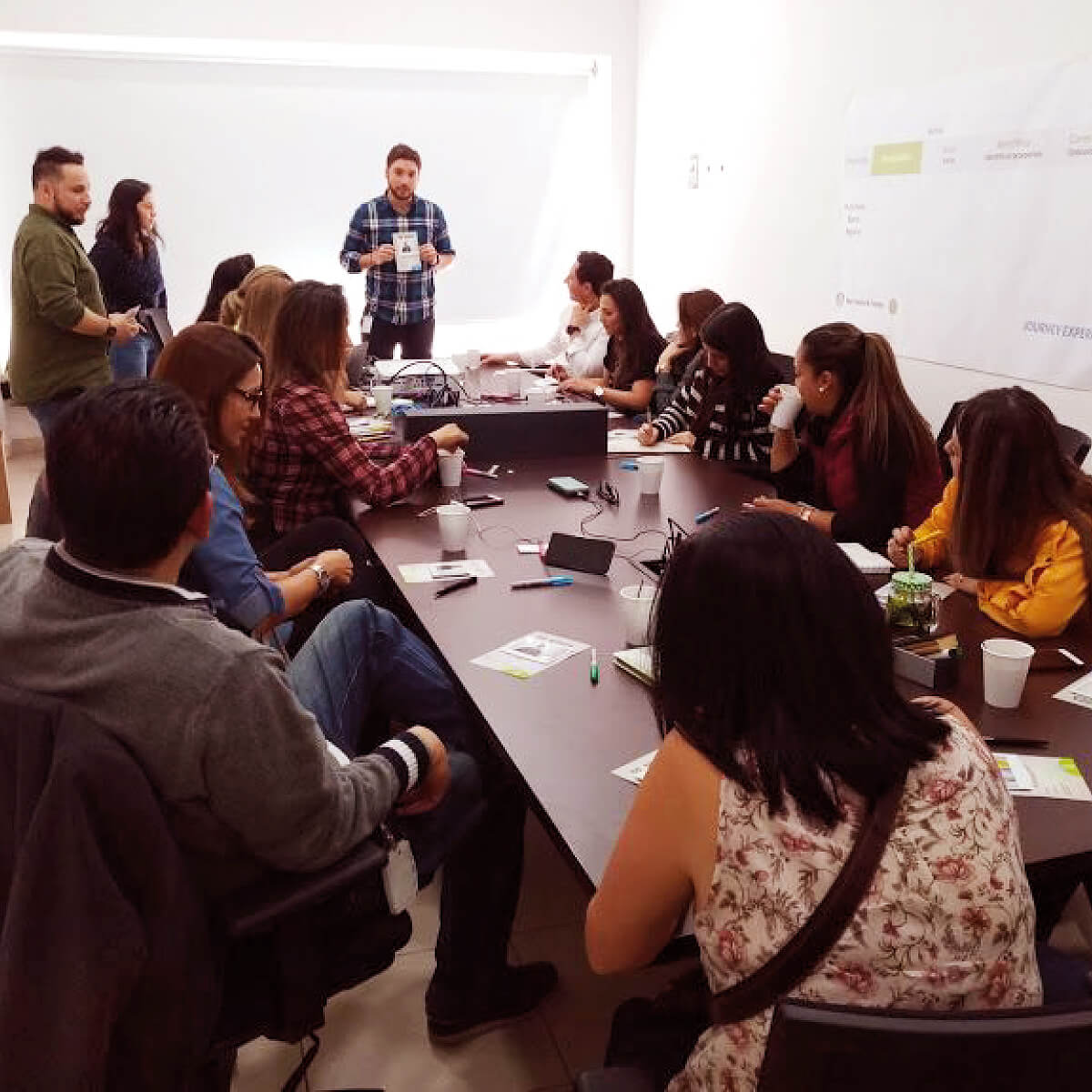 fotografia taller Banco Agrario Colombia por Imaginario 1