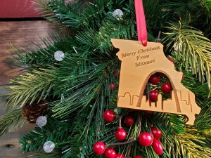 Missouri Christmas Ornament